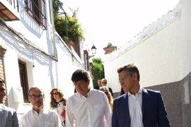"""Marín, convencido de que Ciudadanos dará """"la vuelta a las encuestas"""""""