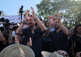 Iglesias y Garzón, este jueves en Jerez en su único acto conjunto en Andalucía