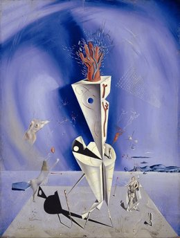 Salvador Dalí, Aparato y mano, 1927