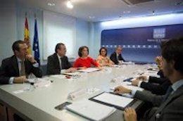 Soraya Sáenz de Santamaría preside la reunión de seguimiento del Brexit