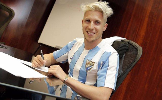 Keko Gontán, nuevo jugador del Málaga