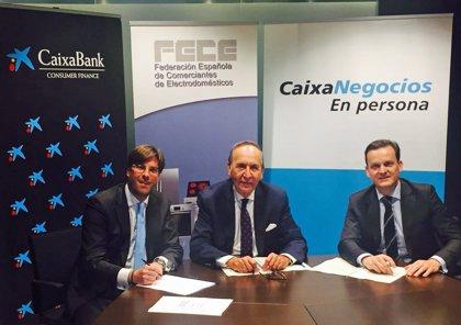 CaixaBank facilita la financiación a los comerciantes de electrodomésticos