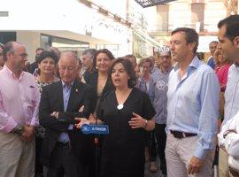 """Sáenz de Santamaría cree que las grabaciones buscan que """"se paren"""" los procesos del 9N"""