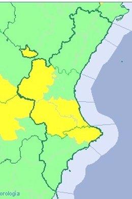 Altas temperaturas en Valencia y Alicante