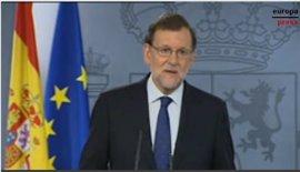 """Rajoy transmite """"estabilidad institucional y económica"""" tras el Brexit"""
