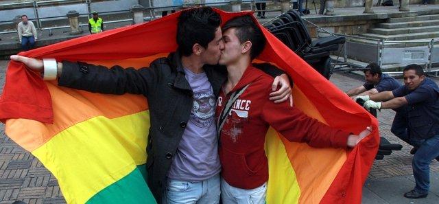 Homosexuales gays LGTB matrimonio
