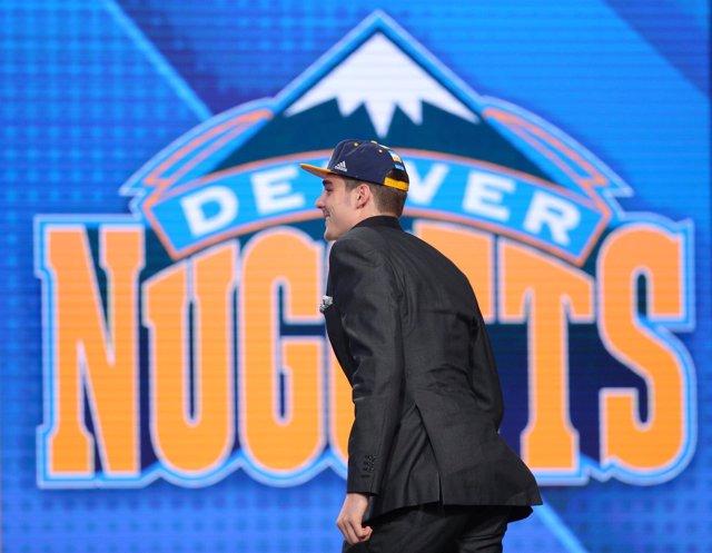 Juancho Hernangómez, elección de Denver Nuggets