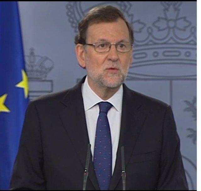 Declaración institucional de Rajoy en la Moncloa tras el Brexit