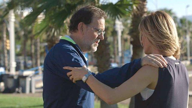 Mariano Rajoy, en 'Dos días y una noche' de Antena 3