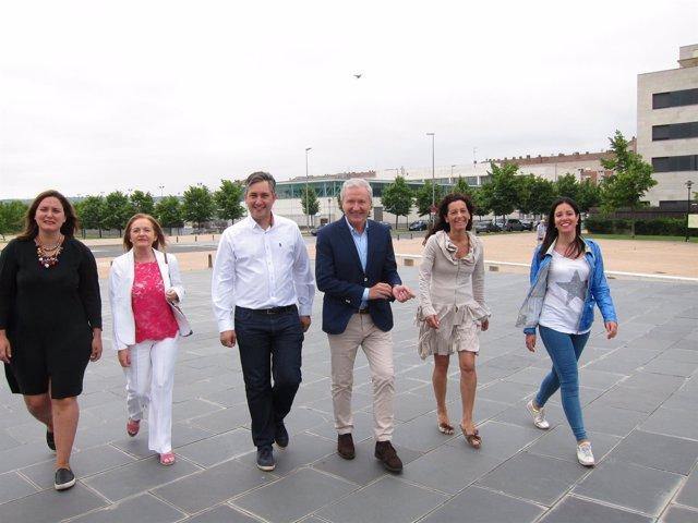 Candidatos del PP riojano realizan recorrido electoral
