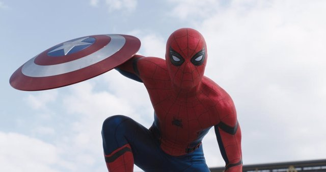 Spiderman en Captain America: Civil War