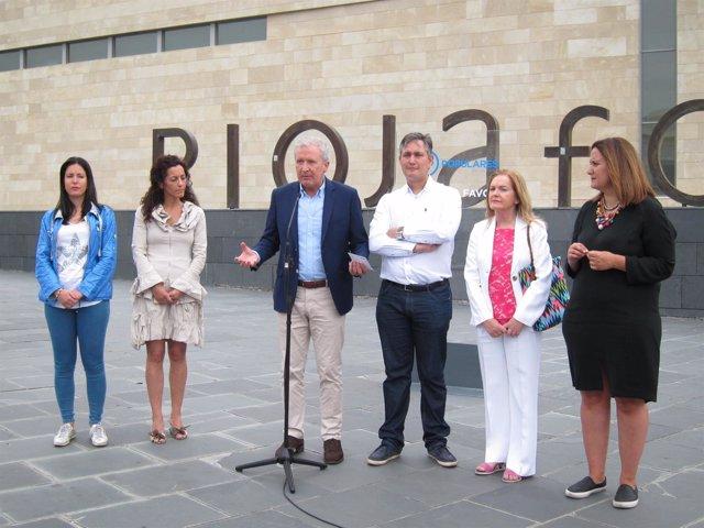 Del Río junto a candidatos PP analiza el Brexti
