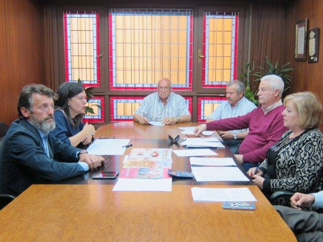 Reunión del PP con Federación de Asociaciones de Mayores