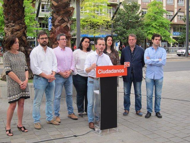 Acto fin de campaña de C's La Rioja