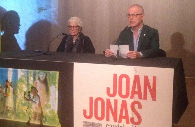 Presentación de la muesta de Joan Jonas en la Fundación Botín