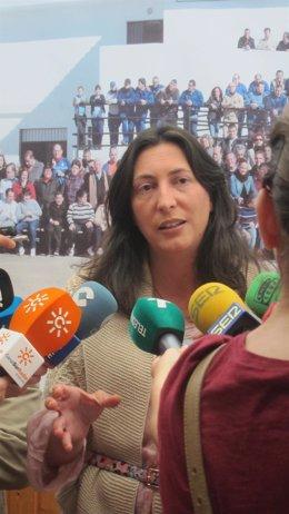 La secretaria general del PP andaluz, Dolores López.