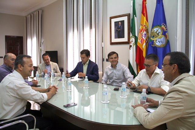 Reunión Diputación con agencias de Viaje