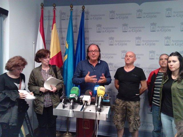 El Grupo Municipal De Xixón Sí Puede (XSP) En El Ayuntamiento De Gijón.