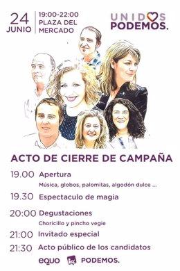Fiesta fin de campaña Unidos Podemos