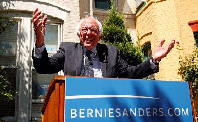 El senador estadounidense Bernie Sanders