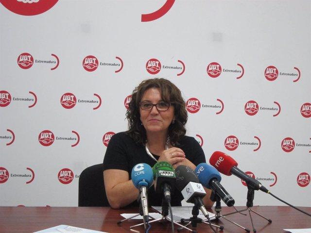 Patrocinio Sánchez en rueda de prensa