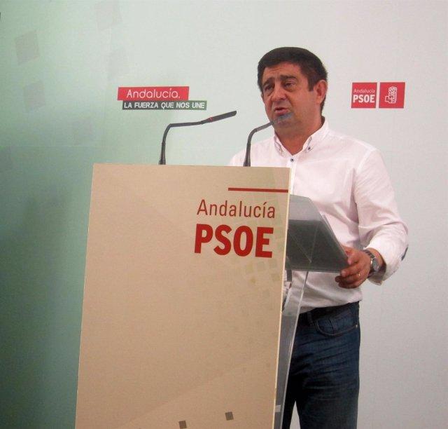 El secretario general del PSOE de Jaén, Francisco Reyes.