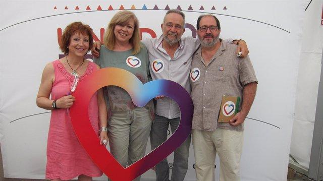 Candidatos de Unidos Podemos por Zaragoza