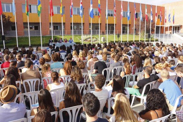 Bienvenida a extranjeros en la Universidad Pablo de Olavide de Sevilla