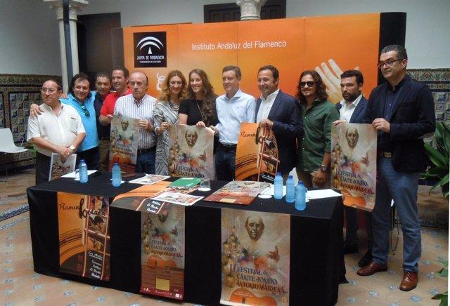 Presentación del Festival de Cante Jondo Antonio Mairena