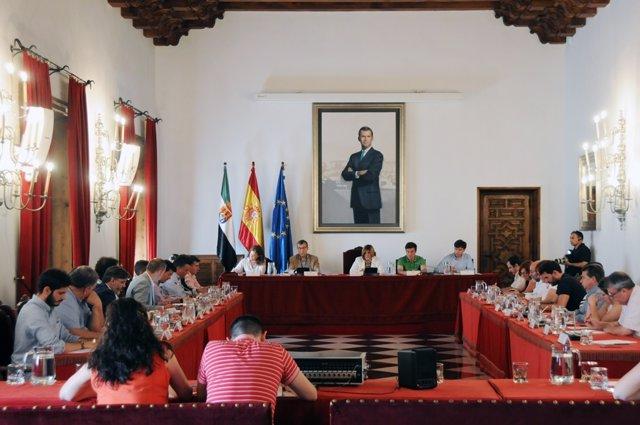 Pleno de Diputación de Cáceres