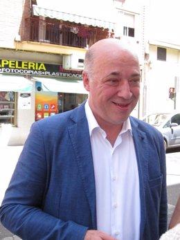 El secretario de Organización del PSOE de Córdoba, Antonio Ruiz