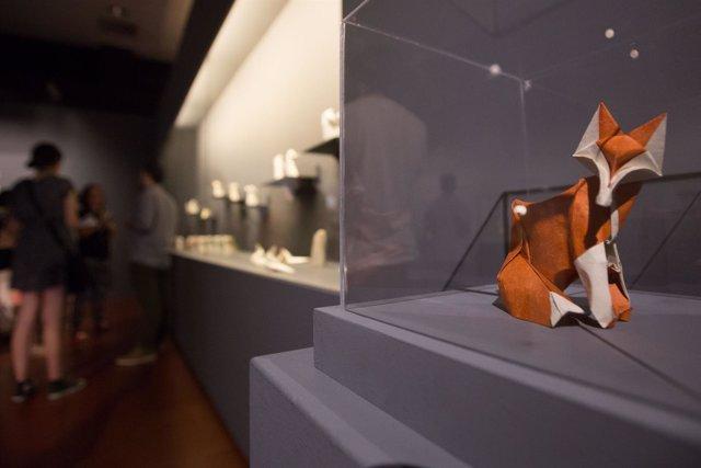 Figura de origami de Fabián Correa