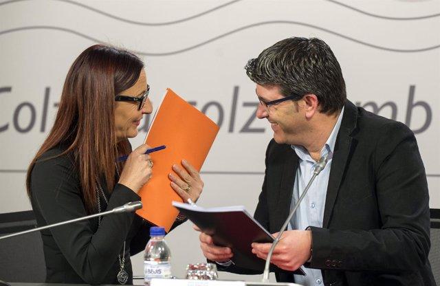 Jorge Rodríguez y Maria Josep Amigó