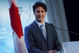 Trudeau no valora el Brexit y dice que Canadá seguirá relacionándose con UE y Reino Unido