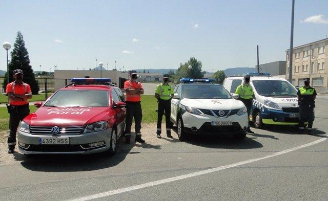 Dispositivo de seguridad vial para Sanfermines.