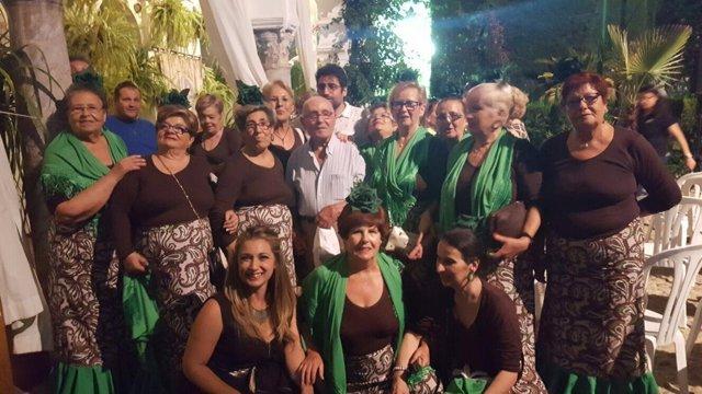 'Noche Blanca Del Flamenco' Con Los Mayores