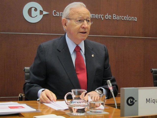 Miquel Valls, pte.De Cámara de Barcelona