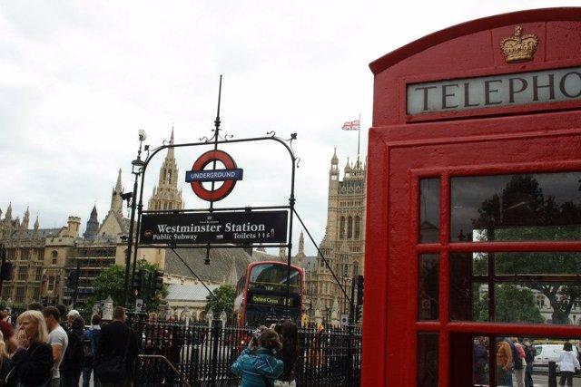 Londres, Metro, Cabina, Westminster