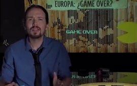El PP difunde un vídeo de Pablo Iglesias a favor de la salida del euro