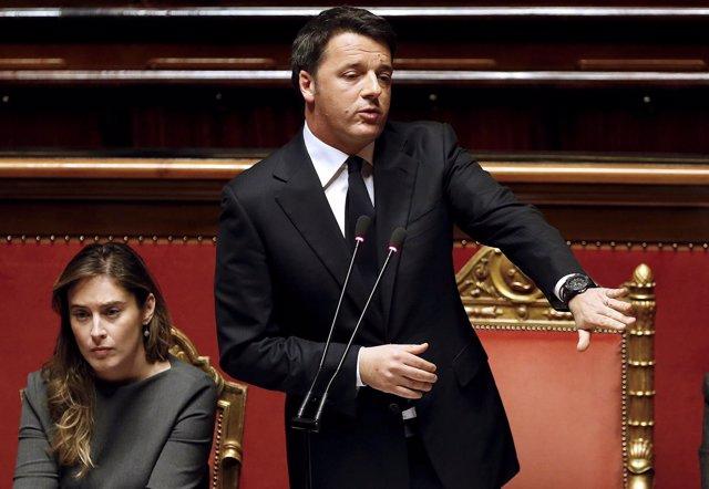 Matteo Renzi gana dos cuestiones de confianza en el Parlamento