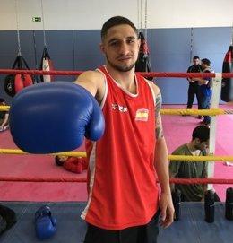 El boxeador español Samuel Carmona