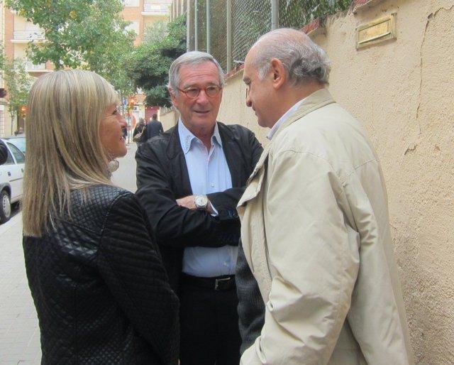 Xavier Trias, junto a Jorge Fernández Díaz