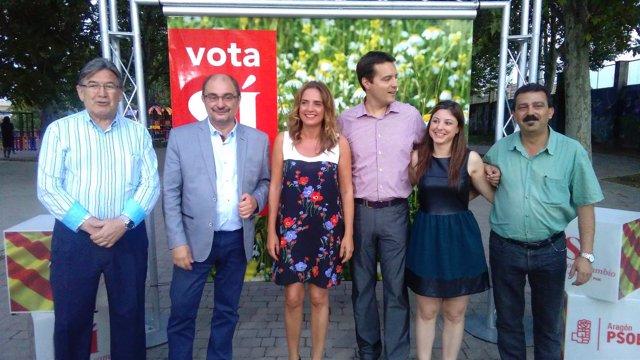 Cierre de campaña del PSOE en Zaragoza