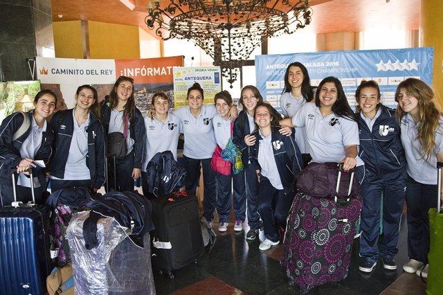 Selección femenina Balonmano Mundial Universitario