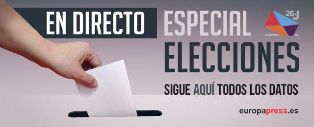 Directo | Elecciones generales 2016