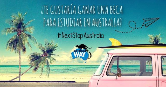 Beca de Estudios con Australia Way