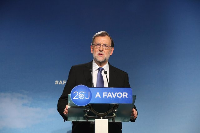 Rueda de prensa de Rajoy tras el Comité Ejecutivo Nacional del PP