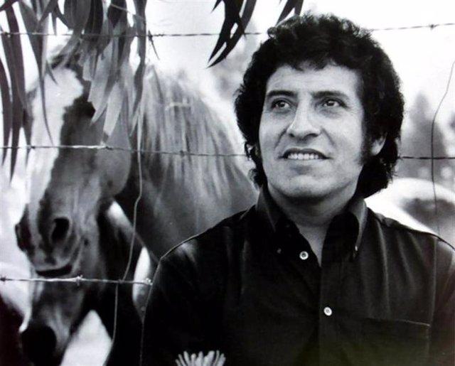 El cantante chileno Victor Jara