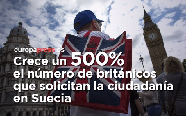 Británicos en Suecia