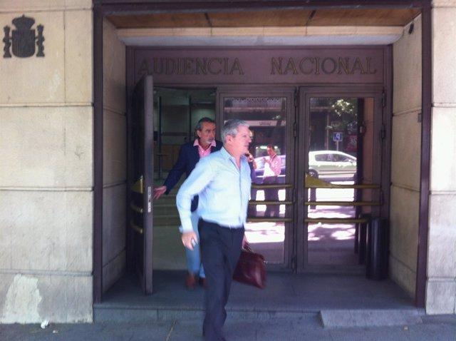Francisco Correa, A Su Salida De La Audiencia Nacional